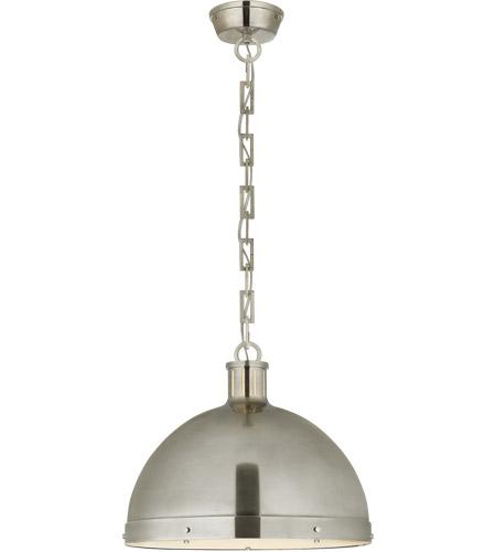 Thomas O Brien Hicks 2 Light 16 Inch Antique Nickel Pendant Ceiling Extra Large