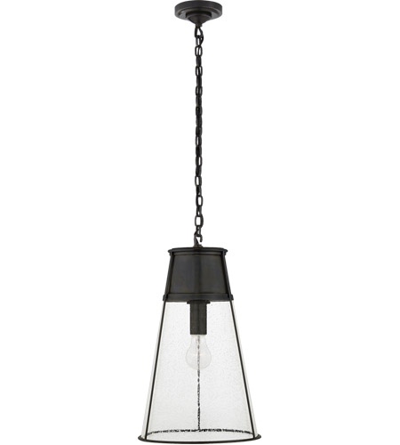 Visual comfort tob5753bz sg thomas obrien robinson 12 inch bronze visual comfort tob5753bz sg thomas obrien robinson 12 inch bronze pendant ceiling light in seeded aloadofball Images
