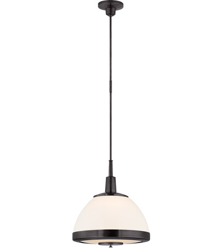 Visual Comfort TOB5762BZ-WG Thomas O'Brien Connor 2 Light 19 inch Bronze Pendant Ceiling Light photo