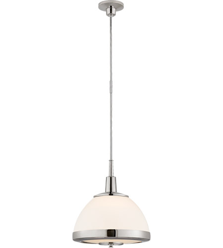 Visual Comfort TOB5762PN-WG Thomas O'Brien Connor 2 Light 19 inch Polished Nickel Pendant Ceiling Light photo
