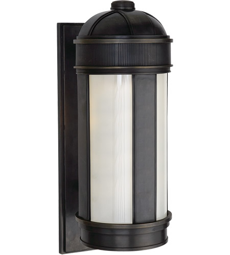Visual Comfort TOBO2120BZ Thomas OBrien Longacre 1 Light 20 inch Bronze Outdoor Wall Lantern photo