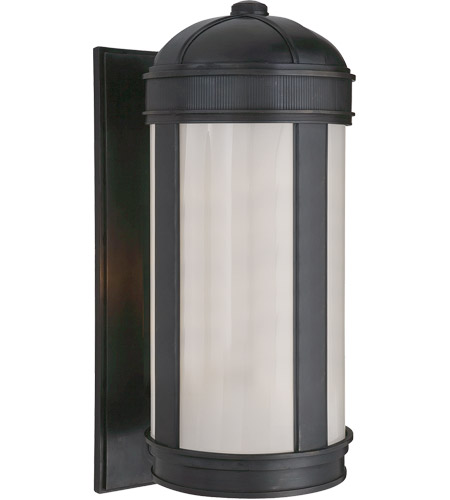 Visual Comfort Thomas OBrien Longacre 3 Light Outdoor Wall Lantern in Bronze TOBO2121BZ photo