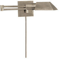 Studio 24 inch 40 watt Antique Nickel Swing-Arm Wall Sconce Wall Light