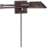 Visual Comfort Studio 1 Light Swing-Arm Wall Light in Bronze with Wax 82034BZ