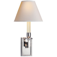 Visual Comfort AH2001PN-NP Alexa Hampton Dean 1 Light 7 inch Polished Nickel Decorative Wall Light