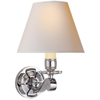 Visual Comfort AH2004PN-NP Alexa Hampton Bing 1 Light 8 inch Polished Nickel Decorative Wall Light photo thumbnail