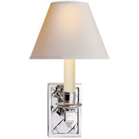Alexa Hampton Gene 1 Light 7 inch Polished Nickel Decorative Wall Light