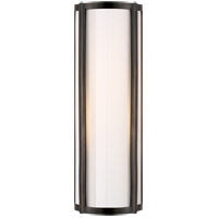 Visual Comfort AH2023GM-WG Alexa Hampton Basil 1 Light 6 inch Gun Metal Bath Wall Light