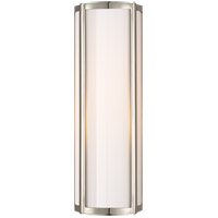 Visual Comfort AH2023PN-WG Alexa Hampton Basil 1 Light 6 inch Polished Nickel Bath Wall Light
