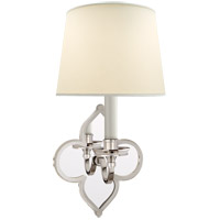 Visual Comfort Alexa Hampton Lana 1 Light 6 inch Polished Nickel Decorative Wall Light AH2040PN-PL - Open Box