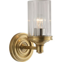 Visual Comfort Alexa Hampton Ava 1 Light Bath Wall Light in Hand-Rubbed Antique Brass AH2200HAB-CG