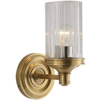 Visual Comfort AH2200HAB-CG Alexa Hampton Ava 1 Light 5 inch Hand-Rubbed Antique Brass Bath Wall Light
