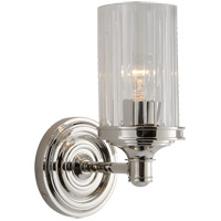 Visual Comfort AH2200PN-CG Alexa Hampton Ava 1 Light 5 inch Polished Nickel Bath Wall Light