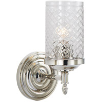 Visual Comfort AH2201PN-CG Alexa Hampton Lita 1 Light 5 inch Polished Nickel Bath Wall Light