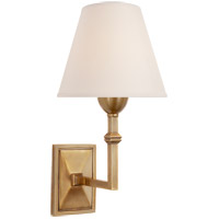 Visual Comfort AH2305HAB-NP Alexa Hampton Jane 1 Light 7 inch Hand-Rubbed Antique Brass Decorative Wall Light photo thumbnail