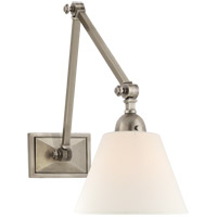 Visual Comfort AH2330AN-L Alexa Hampton Jane 1 Light 8 inch Antique Nickel Double Library Wall Light photo thumbnail