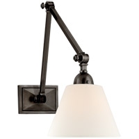 Visual Comfort AH2330GM-L Alexa Hampton Jane 1 Light 8 inch Gun Metal Double Library Wall Light