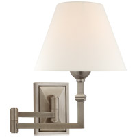 Visual Comfort AH2337AN-L Alexa Hampton Jane 23 inch 40 watt Antique Nickel Swing Arm Wall Light