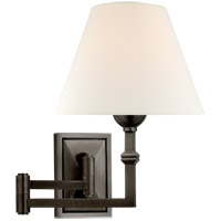 Visual Comfort AH2337GM-L Alexa Hampton Jane 23 inch 40 watt Gun Metal Swing Arm Wall Light