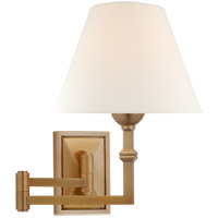 Visual Comfort AH2337HAB-L Alexa Hampton Jane 23 inch 40 watt Hand-Rubbed Antique Brass Swing Arm Wall Light