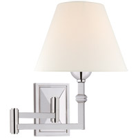 Visual Comfort AH2337PN-L Alexa Hampton Jane 23 inch 40 watt Polished Nickel Swing Arm Wall Light