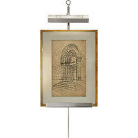 Visual Comfort Alexa Hampton Estelle 1 Light Picture Light in Polished Nickel AH2500PN
