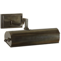 Visual Comfort AH2700GM Alexa Hampton Dean 40 watt 11 inch Gun Metal with Wax Picture Light Wall Light