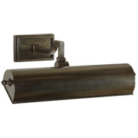 Alexa Hampton Dean 40 watt 14 inch Gun Metal with Wax Picture Light Wall Light