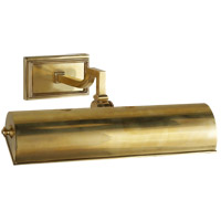 Visual Comfort Alexa Hampton Dean 40 watt 14 inch Natural Brass Picture Light Wall Light AH2701NB - Open Box