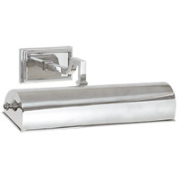Alexa Hampton Dean 40 watt 14 inch Polished Nickel Picture Light Wall Light