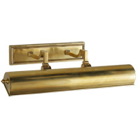 Alexa Hampton Dean 80 watt 20 inch Natural Brass Plug-In Picture Light Wall Light