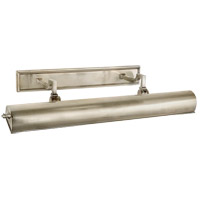 Visual Comfort Alexa Hampton Dean 2 Light Picture Light in Brushed Nickel AH2703BN