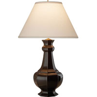 Visual Comfort Alexa Hampton Greta 2 Light Decorative Table Lamp in Dark Brown Porcelain AH3016DB-L