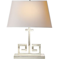 Alexa Hampton Kate 24 inch 40 watt Polished Nickel Decorative Table Lamp Portable Light