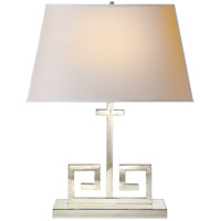 Visual Comfort AH3024PN-NP Alexa Hampton Kate 24 inch 60 watt Polished Nickel Decorative Table Lamp Portable Light
