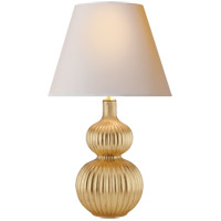 Alexa Hampton Lucille 31 inch 60 watt Gild Table Lamp Portable Light