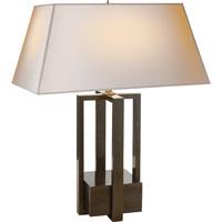 Visual Comfort AH3044GM-NP Alexa Hampton Ingrid 31 inch 60 watt Gun Metal with Wax Decorative Table Lamp Portable Light
