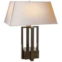 Visual Comfort AH3044GM-NP Alexa Hampton Ingrid 31 inch 75 watt Gun Metal Decorative Table Lamp Portable Light