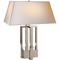 Visual Comfort AH3044PN-NP Alexa Hampton Ingrid 31 inch 60 watt Polished Nickel Decorative Table Lamp Portable Light