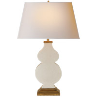 Visual Comfort AH3063TS-NP Alexa Hampton Anita 29 inch 100 watt Tea Stain Porcelain Decorative Table Lamp Portable Light