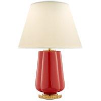 Visual Comfort AH3125BYR-PL Alexa Hampton Eloise 26 inch 60 watt Berry Red Table Lamp Portable Light