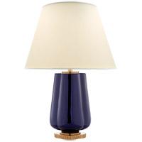 Visual Comfort AH3125DM-PL Alexa Hampton Eloise 26 inch 60 watt Denim Porcelain Table Lamp Portable Light
