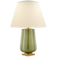 Alexa Hampton Eloise 26 inch 60 watt Green Porcelain Table Lamp Portable Light