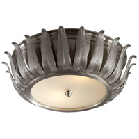 Visual Comfort AH4000BN-FG Alexa Hampton Audrey 2 Light 16 inch Brushed Nickel Flush Mount Ceiling Light