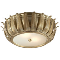 Visual Comfort AH4000NB-FG Alexa Hampton Audrey 2 Light 16 inch Natural Brass Flush Mount Ceiling Light photo thumbnail