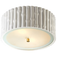 Visual Comfort AH4004WHT-FG Alexa Hampton Frank 2 Light 11 inch Plaster White Flush Mount Ceiling Light