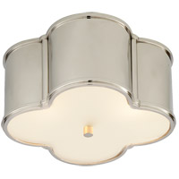 Alexa Hampton Basil 2 Light 11 inch Polished Nickel Flush Mount Ceiling Light