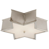 Visual Comfort AH4017PN-FG Alexa Hampton Sophia 3 Light 17 inch Polished Nickel Flush Mount Ceiling Light