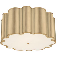 Visual Comfort AH4021G-FA Alexa Hampton Markos 4 Light 26 inch Gild Flush Mount Ceiling Light Grande