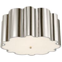 Alexa Hampton Markos 4 Light 26 inch Polished Nickel Flush Mount Ceiling Light
